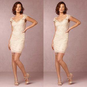 Anthropologie x BHLDN Tadashi Shoji Solange Dress